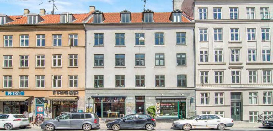 1038 – Møbleret bolig Vesterbro