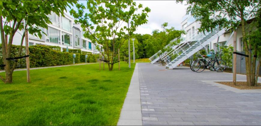 1198 – Moderne rækkehus i Nordsjælland