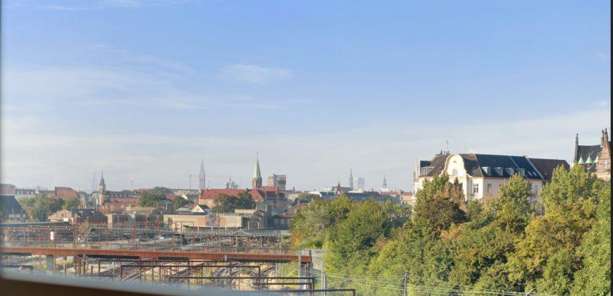 1251 – Østerbro lejlighed med fantastisk udsigt