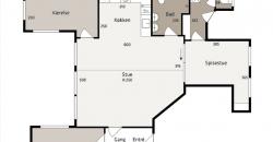 1280 – Nyistandsat lejlighed i centrum