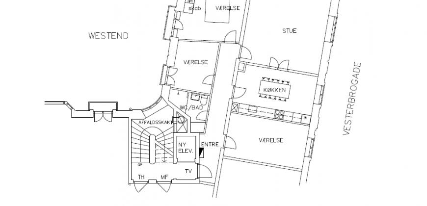 1367 – Gennemført bolig med perfekt location.