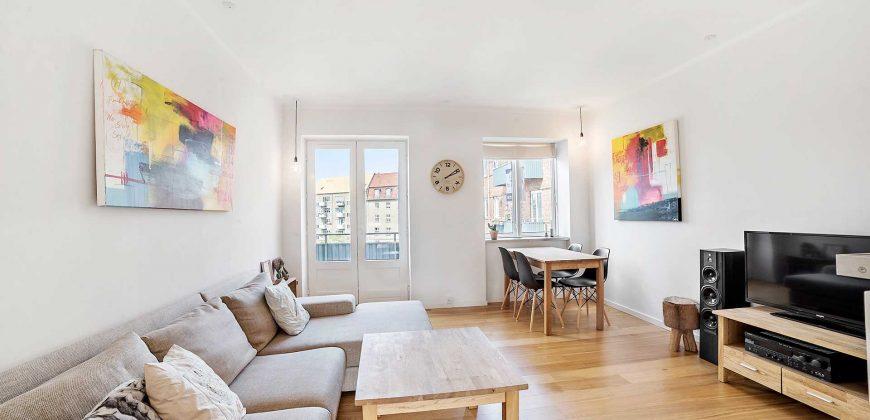 1013 – Stor og lys to værelses på Bryggervangen