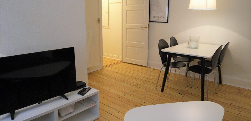 1234 – Short term rental at Østerbro