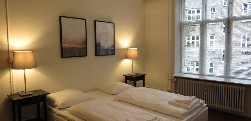 1408 – Furnished apartment at Østerbro