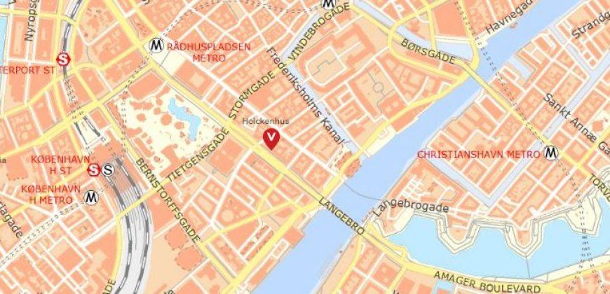 1429 – Lejlighed uden bopælspligt i city