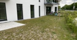 1500 – Newly build apartment with a small garden