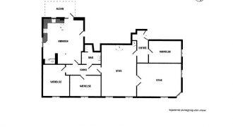 1508 – Skøn 5 værelset herskabslejlighed på Gammel Kongevej