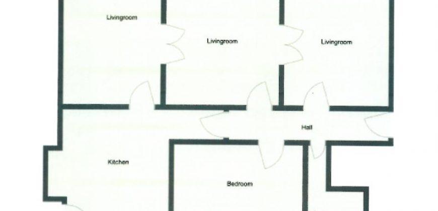 1507 – Dejlig lejlighed med hele to altaner på Marskensgade
