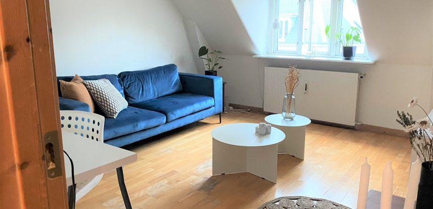 154 – Toværelseslejligehed på Frederiksberg