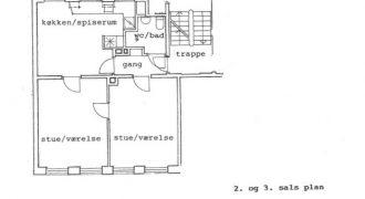 1546 – Toværelses lejlighed på Borgmester Jensens Allé