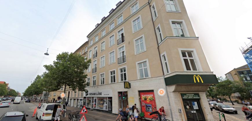 1553 – Nyistandsat seksværelseslejlighed på Østerbro