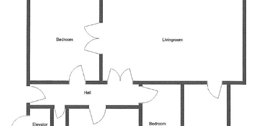 1632 – Dejlig lejlighed med to altaner på Marskensgade